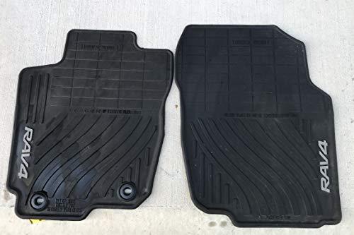 Toyota Rav4 Black All-Weather Floor Liners PT908-42165-20 Non-Hybrid