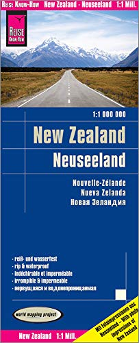 Reise Know-How Landkarte Neuseeland / New Zealand (1:1.000.000): world mapping project