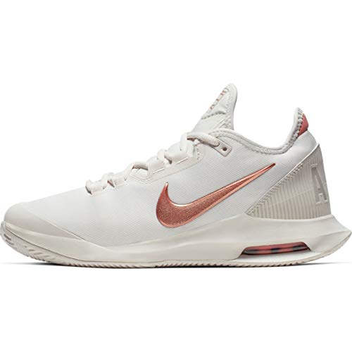 Nike Nikecourt Air MAX Wildcard, Zapatillas de Tenis Mujer, Blanco (Phantom/Mtlc Red Bronze 066), 40.5 EU