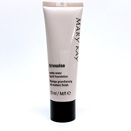 Ivory 5Mary Kay TimeWise Matte Wear Foundation–Imprimación para líquidos piel piel Mixta/Grasa 29ml MHD 2019