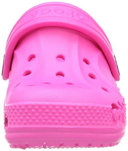 Crocs Kids' Baya Clog , Neon Magenta, 1 Little Kid
