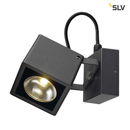 SLV BIG NAUTILUS lamp outdoor lamp aluminium/glas zwart lamp buiten, buitenlamp