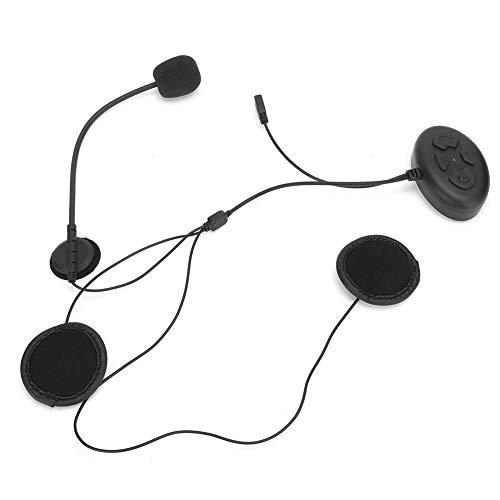 Socobeta Helm mit großer Kapazität Freisprecheinrichtung Kopfhörer mit Langer Standby-Zeit Bluetooth5.0 Chip DK11 Headset Kompatibel mit Android-Handys zum Reiten