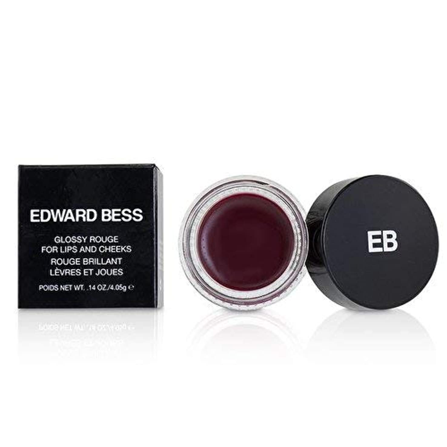 著名な地獄安らぎエドワードべス Glossy Rouge For Lips And Cheeks - # Spanish Rose 4.05g/0.14oz並行輸入品