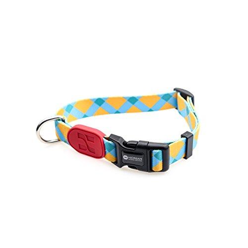 HiDream Profusion Series - Hundehalsband - 4 stylische Designs - Accessoire zum Gassigehen - Sonnenaufgang - L