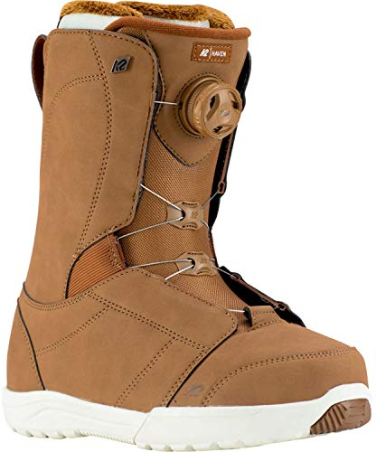 K2 Snowboard Boots Gr. 9 schwarz BOA Schnürsystem stoßabsorbierend - Damen