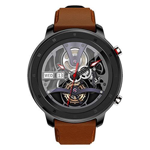 BNMY Reloj Inteligente Hombre Smartwatch Hombre De Pantalla Táctil Ccompleta Impermeable IP67 Pulsera De Actividad Inteligente con Deportes Pulsómetro Sueño Caloría iOS Y Android,Negro