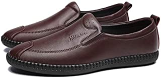 FYdgcgf Men's Business Casual Shoes Soft Bottom Slip-on Loafers Shoes