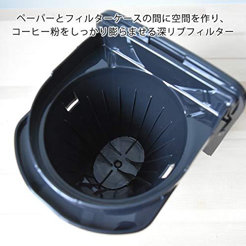 タイガー魔法瓶(TIGER)コーヒーメーカーシャワードリップタイプ0.81L6杯用ブラックADC-N060-K