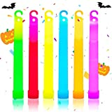 PartySticks Glow Sticks Bulk 25Pc Party Pack - 6 Inch Glow in the Dark Sticks Party Favors, Glow Necklaces Party Supplies and Halloween Decorations