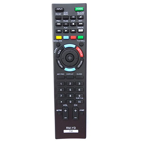 Universal Remote for Sony TV XBR55X900A KDL-47W802A KDL-55W802A KDL55W802A KDL-55W900A KDL55W900A KDL65S990A KDL-65W850A XBR-55X850A XBR65X850A XBR-65X900A XBR65X900A