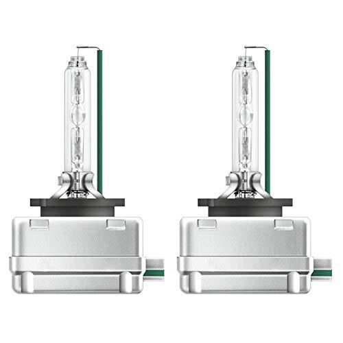 LED Coche Faros Delanteros Bombilla, Lámpara De Xenón Hid Brillante Súper Brillante De 80 W 6000k 8000lm Faro para Lámpara De Repuesto De Coche para Halógeno Y Xenón D3S-8000K