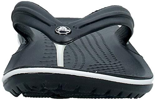Crocs Crocband Flip, Unisex Adulto, Black, 38/39 EU