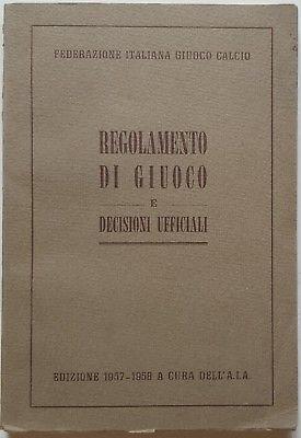Idea Regalo Opaco Pallone da Calcio Italia con Stemma della Federazione Italiana Giuoco Calcio Taglia 5