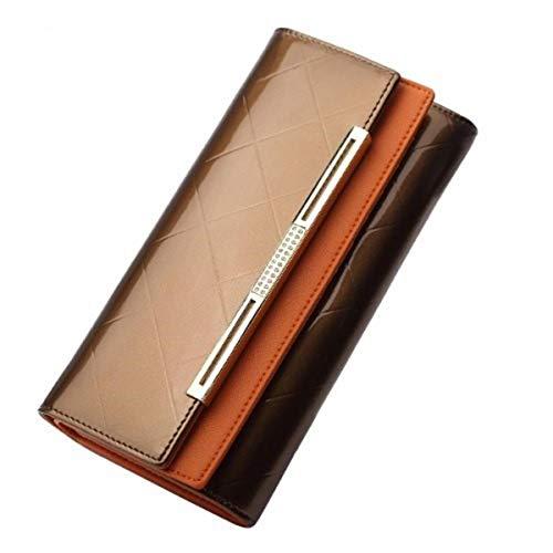 Lakleer dames portemonnee, luxe, glanzend, goedkoop, nieuw en professioneel