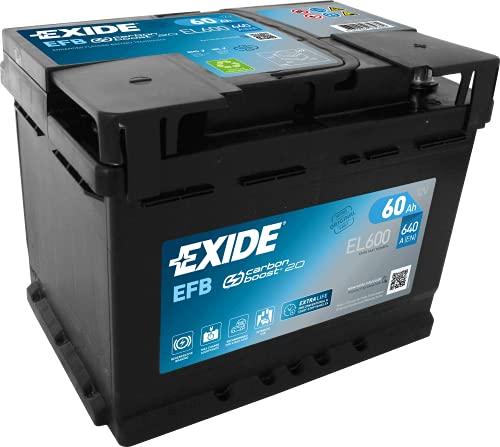 Exide El600 Batterie de démarrage.