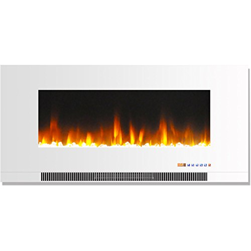 Hanover Wall-Mount Electric Fireplace, 42