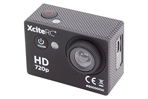 XciteRC 80000100 Action HD 5 MP camera, zwart