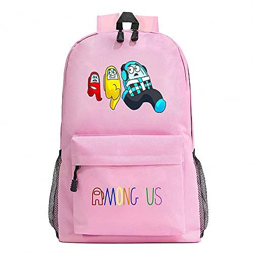 BAOYIHAI Mochila para niños, Mochila para niños de 3 a 18 años, Mochilas Escolares para niños y niñas con Cinturones de Seguridad Rosa