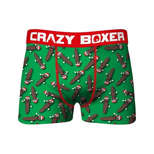 Crazy Boxers South Park Mr. Hankey Unterhose mit Urlaubsmotiv Gr. (8 /9)XL , merhfarbig