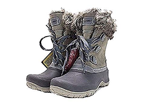 Khombu Women's The Slope Winter Snow Boots 9 Grey