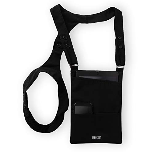 """Shoulder Holster Tablet Sleeve Bag by Tabocket for iPad Air 2, iPad Air, iPad 4, iPad 3, iPad 2 and fits 9.7"""" iPad, 10.5"""" iPad Pro, 10"""" Surface Go 10.1 Fire HD and The 10.5 Galaxy Samsung Tablets"""