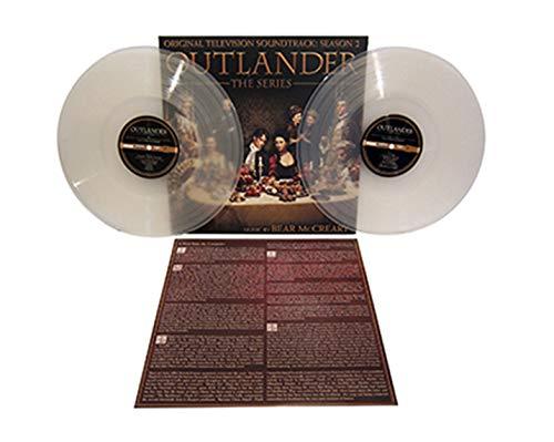 Outlander, The Series: Season 2 Soundtrack Exclusive Clear vinyl [vinyl] Bear McCreary
