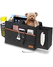 Integrity.1 Bedside Pocket Organizer, Vilt Nachtkastje, Caddy Opbergdoos, Vilt Hangende Organizer Bag, Dikkere Nachtkastje, voor het opbergen van persoonlijke artikelen, elektronische producten en verschillende snacks
