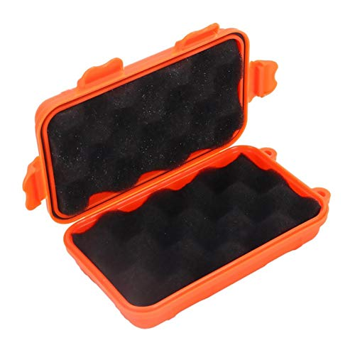 Caja de almacenamiento impermeable a prueba de golpes al aire libre, caja de almacenamiento de supervivencia Contenedor hermético impermeable al aire libre Caja de transporte de pesca para pesca Campi