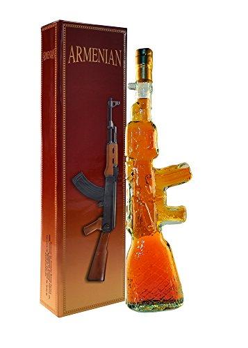armenischer Brandy Kalaschnikow, 40% Alk, 5 Jahre gereift, 0,5L