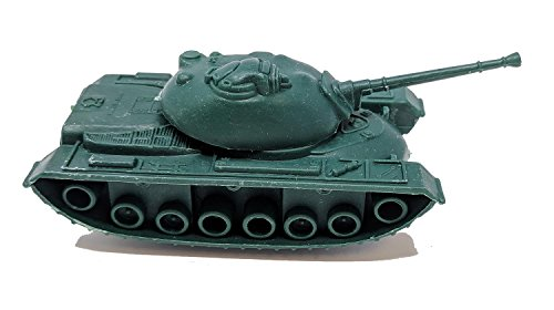 Toy Essentials 16 Pc Green and Desert Army Battle Tanks Play Set