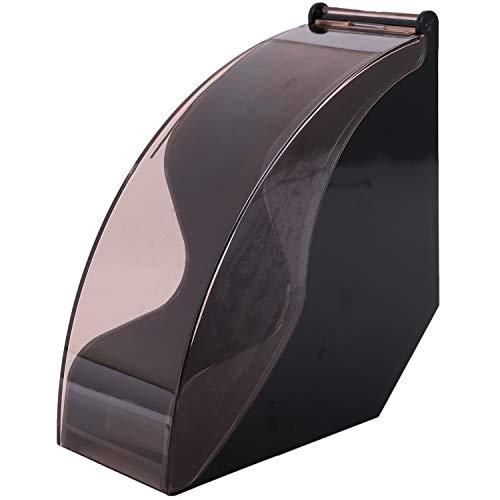 BOINN Soporte de Papel de Filtro V60 / Caja de Papel de Filtro Cónico Filtro de Papel de Almacenamiento Estante de Soporte Herramientas de Café a Prueba de Polvo con Cubierta