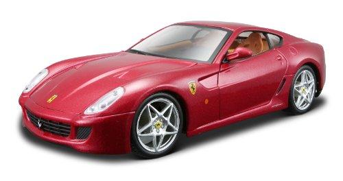 Maisto 39274 - Modellauto 1:24 Bausatz Ferrari 599 GTB Fiorano, metallic rot