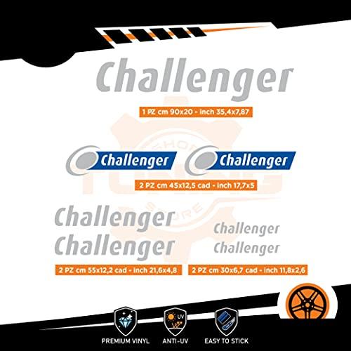 Generico Kit Adesivi Camper Challenger - Versione B