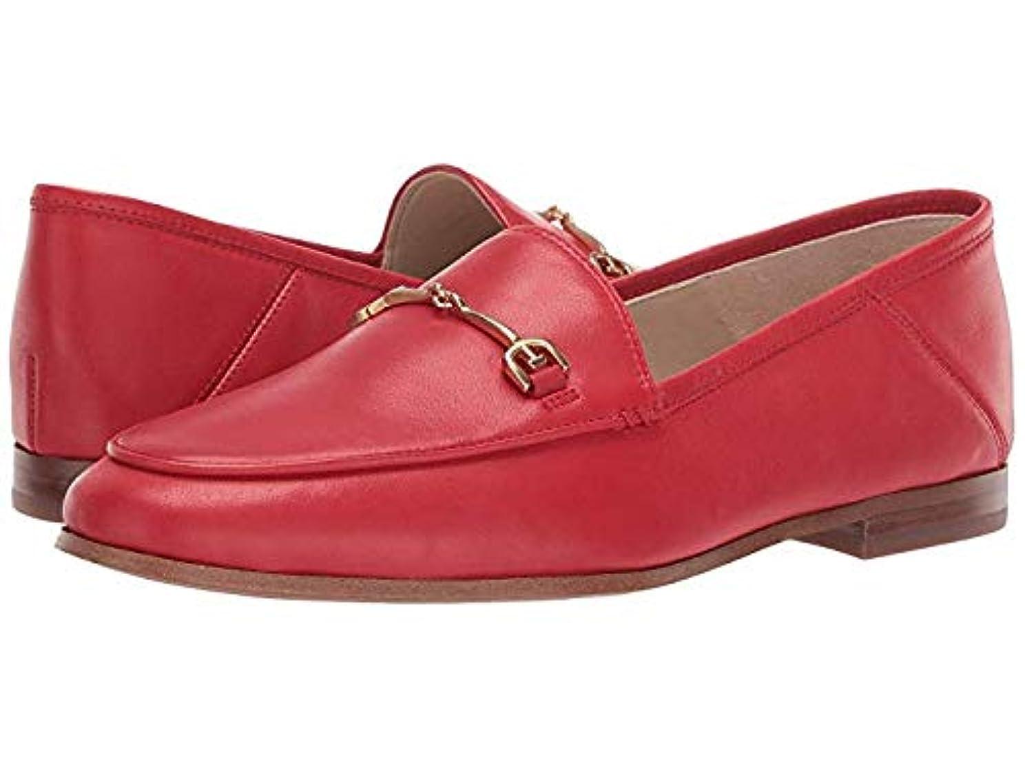強制苦味感覚[Sam Edelman(サムエデルマン)] レディースローファー?靴 Loraine Loafer Lipstick Red Modena Calf Leather (25.5cm) M [並行輸入品]