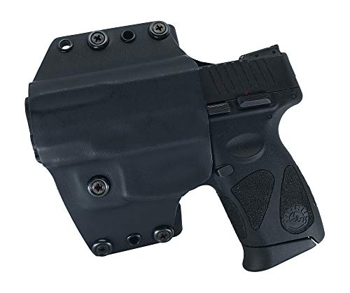 Watchdog Tactical, Taurus PT111/140 G2C Holster, Left-Handed, Black, OWB/IWB