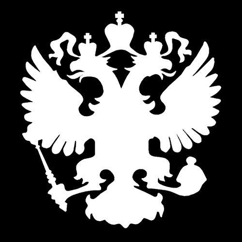 JHD Wappen Russische Föderation Eagle Emblem Auto Aufkleber Aufkleber Handy Laptops Beschriftung