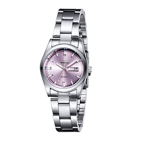 Relojes de mujer Moda Casual Marca de negocios de lujo para mujer Banda de acero inoxidable analógico Relojes deportivos para mujer Lady Girl Reloj Reloj de cuarzo