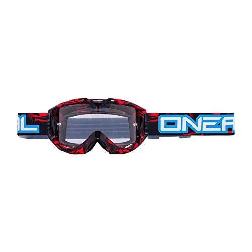 O'NEAL B1 RL Goggle MX DH Brille Icebreaker rot/blau Oneal