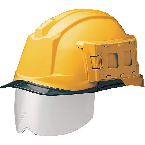 ミドリ安全 ヘルメット 一般作業用 電気作業用 IDケース付 スライダー面 SC-19PCLS-ID RA3 αライナー付 イエロー スモーク