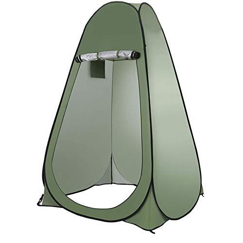 thematys Outdoorzelt Umkleide- und Duschzelt in 4 verschiedenen Designs - perfekt für Camping, Urlaub und Angeln (Style 2)
