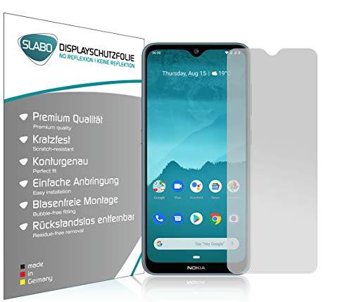 Slabo 4 x Bildschirmschutzfolie für Nokia 6.2 | Nokia 7.2 Bildschirmfolie Schutzfolie Folie Zubehör No Reflexion MATT