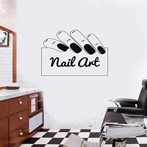 Nagelstudio Aufkleber Nail Signage Nail Salon Boutique Porte Fenêtre En Verre Ongles Manucure Salon De Beauté