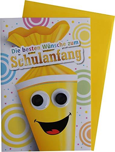 Kurt Eulzer Glückwunschkarte Grußkarte Einschulung 1. Schultag 60-6143