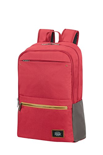 American Tourister Urban Groove Lifestyle Laptop Backpack 5 17.3' Mochila tipo casual, 45 cm, 28 liters, Rojo (Red)