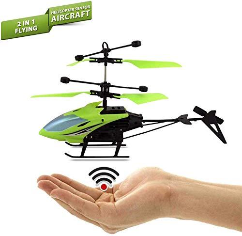 RETAIL PARATPAR Plastic Remote Control Hand Sensor Helicopter, Pack Of 1, Multicolour