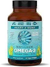 Sunwarrior Vegan Omega 3 DHA & EPA Supplement | Algal Oil - Preferred Alternative to Fish Oil - Supports Brain, Eye, Joint...