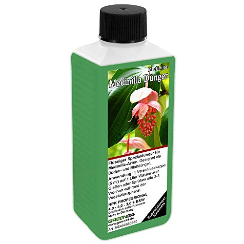 GREEN24 Medinilla magnifica Dünger NPK Volldünger Flüssigdünger, Medinille düngen