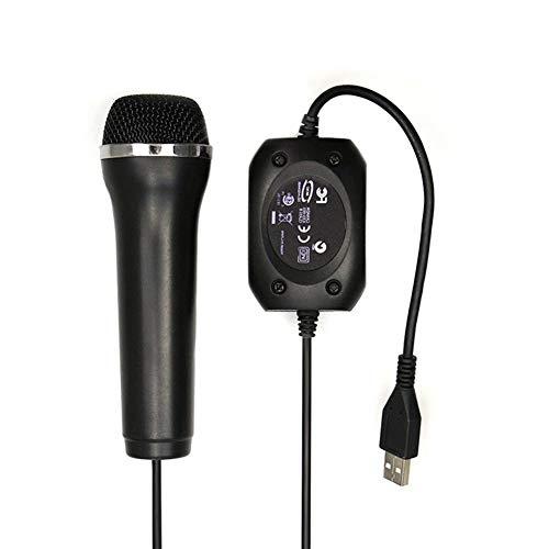 PS3 microfoon met USB-kabel voor PS4 voor Xbox One/Xbox One Slim voor Xbox 360 / Xbox 360 Slim voor Wii/PC console 5mmDual-C402D