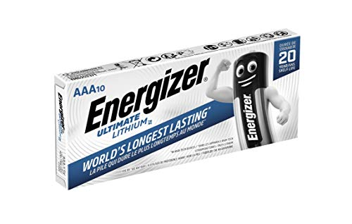 Energizer Ultimate Battery Lithium LR03 1.5V AAA 10 Stück